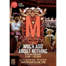 Much Ado About Nothing at Shakespeare's Globe, Bankside