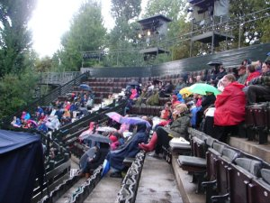 Rainy audience at Kate Rusby