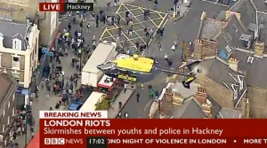 Hackney TV riots