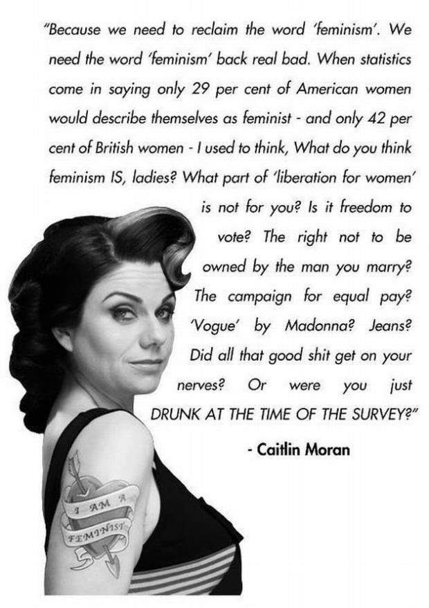 Caitlin Moran quotation