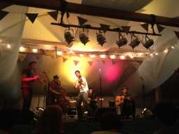 Maniere des Bohemiens, a Hungarian gypsy-jazz folk band at Wilderness