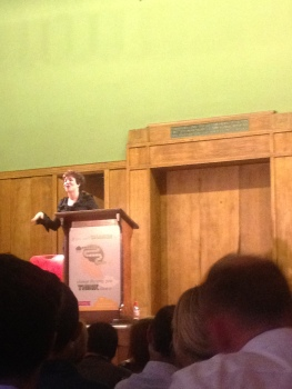 Ruby Wax on mindfulness, Conway Hall, London