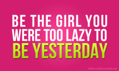 be-girl-lazy