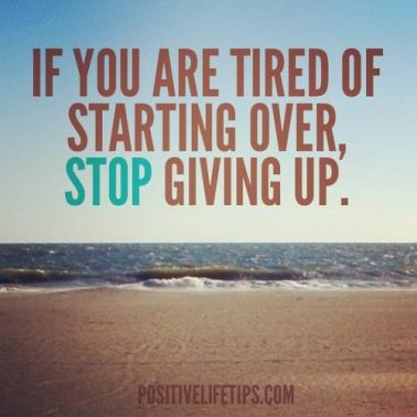 Tired-starting-over