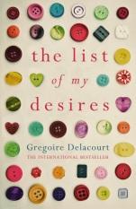 List of My Desires Gregoire Delacourt