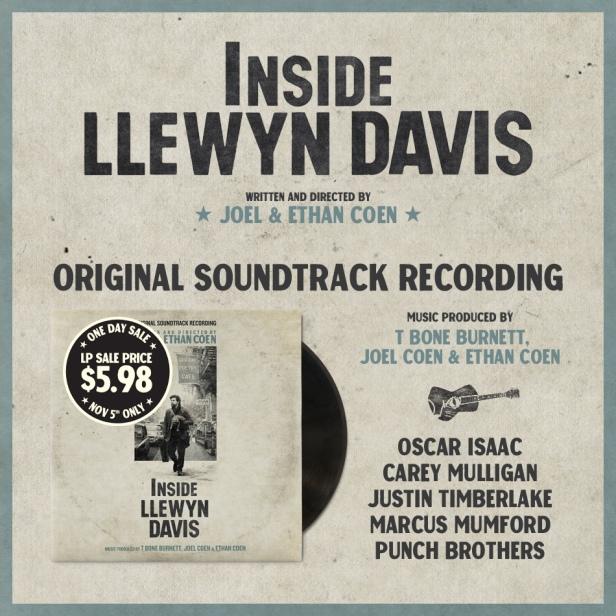 Inside Llewyn Davis soundtrack