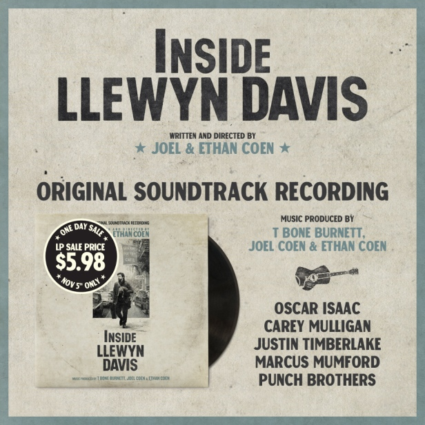 Inside Llewyn Davis soundtrack