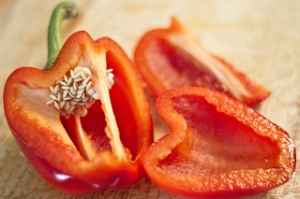Red pepper. Ick. [Creative Commons pic by John Pinder]
